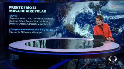 Foto: Pronostican Bajas Temperaturas Fin De Semana México 17 Enero 2020