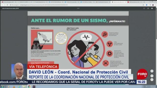 FOTO: proteccion civil alista megasimulacro para este 20 de enero