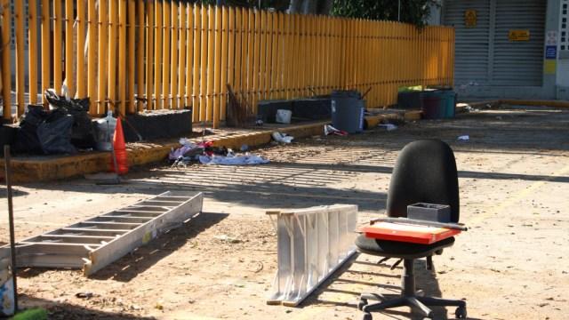 FOTO Restablecen diálogo autoridades de UNAM y alumnos de prepa 7