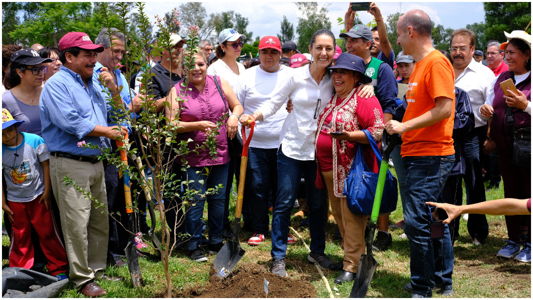 Imagen: Claudia Sheinbaum anuncia nueva inversión para el Bosque de Aragón, 18 de enero de 2020 (GRACIELA LÓPEZ /CUARTOSCURO.COM)
