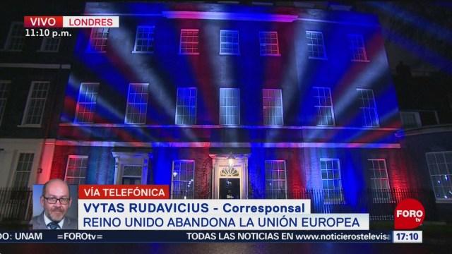 FOTO: reino unido abandona oficialmente la union europea
