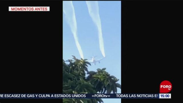 FOTO: reportan emergencia en vuelo de delta airlines