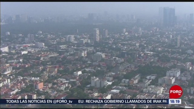 FOTO: 12 enero 2020, reportan mala calidad de aire en ecatepec