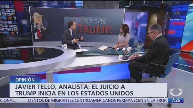 reporte trump el juicio politico a donald trump