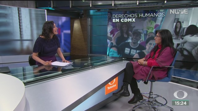 FOTO: representacion de derechos humanos en la cdmx