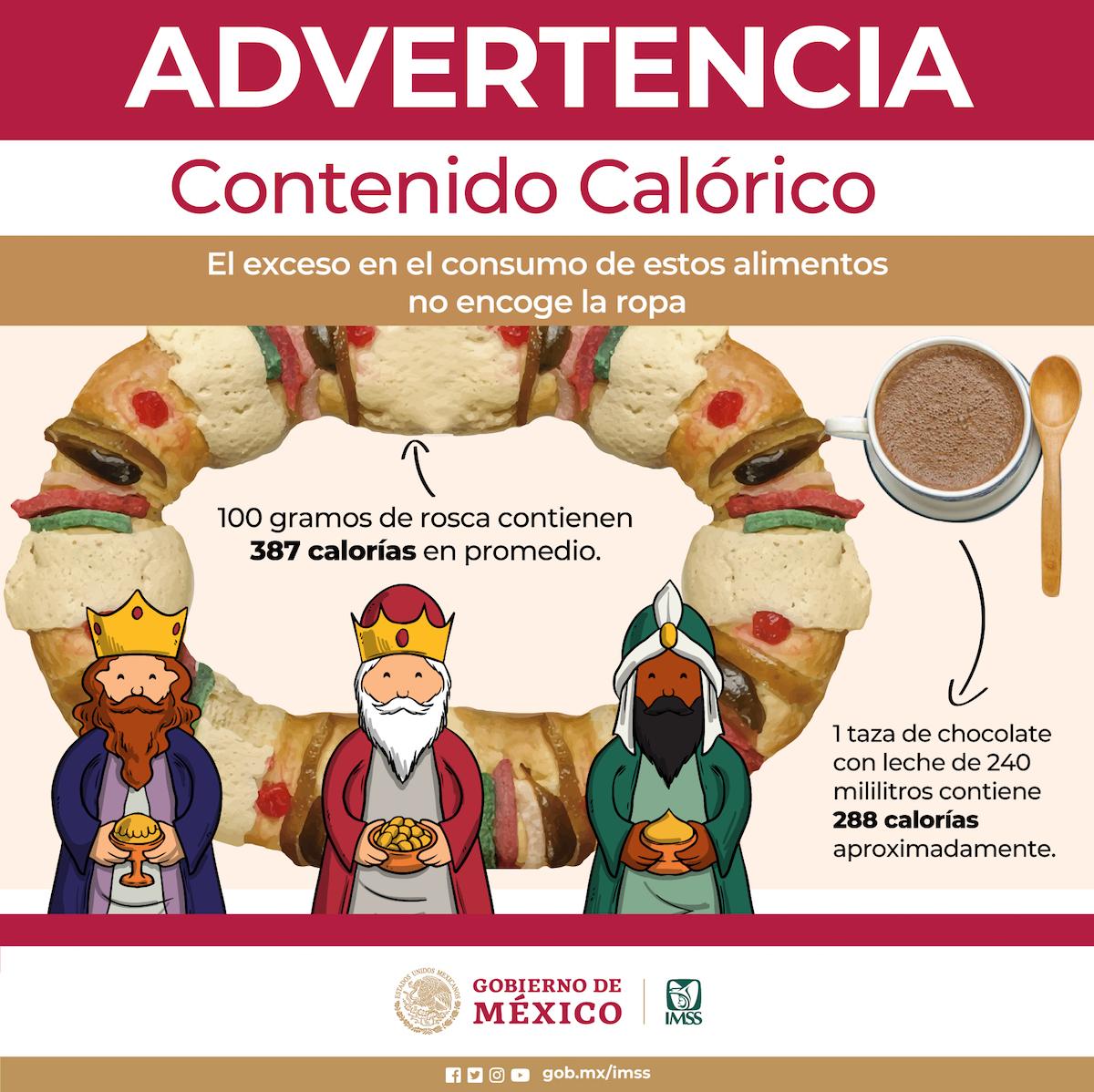 Rosca De Reyes Con Chocolate Caliente Una Bomba De Calorías Noticieros Televisa