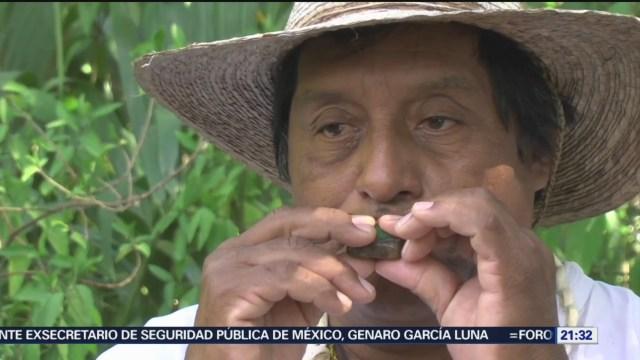 FOTO: 4 enero 2020, sacerdotes mayas pronostican el clima para el