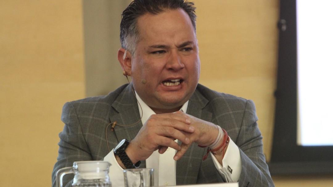 Foto: Santiago Nieto, titular de la Unidad de Inteligencia Financiera de la Secretaría de Hacienda, 23 enero 2020