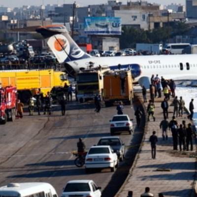 Foto: Avión de pasajeros se estrella en Afganistán; no hay supervivientes