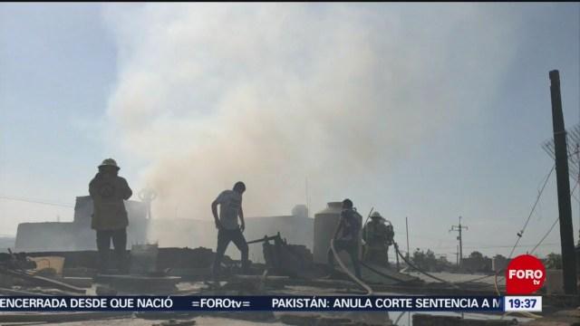 Foto: Incendio Fábrica Colchones Tonalá Jalisco Hoy 13 Enero 2020