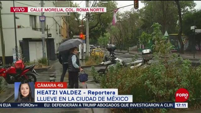 FOTO: 19 enero 2020, se registran lluvias en la ciudad de mexico