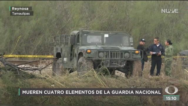 FOTO: sedena confirma muerte de cuatro militares en reynosa