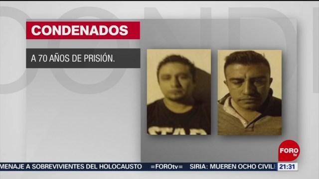 Foto: Feminicidas Nezahualcóyotl Sentenciados 70 Años Prisión 23 Enero 2020