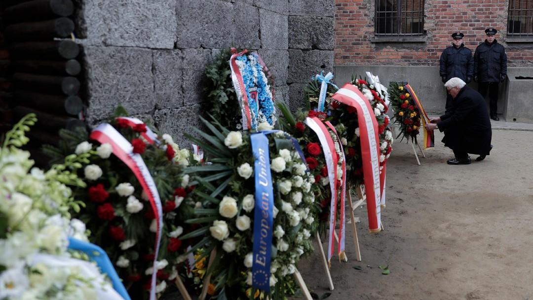 Foto: Sobrevivientes y líderes mundiales conmemoran 75 aniversario de Auschwitz