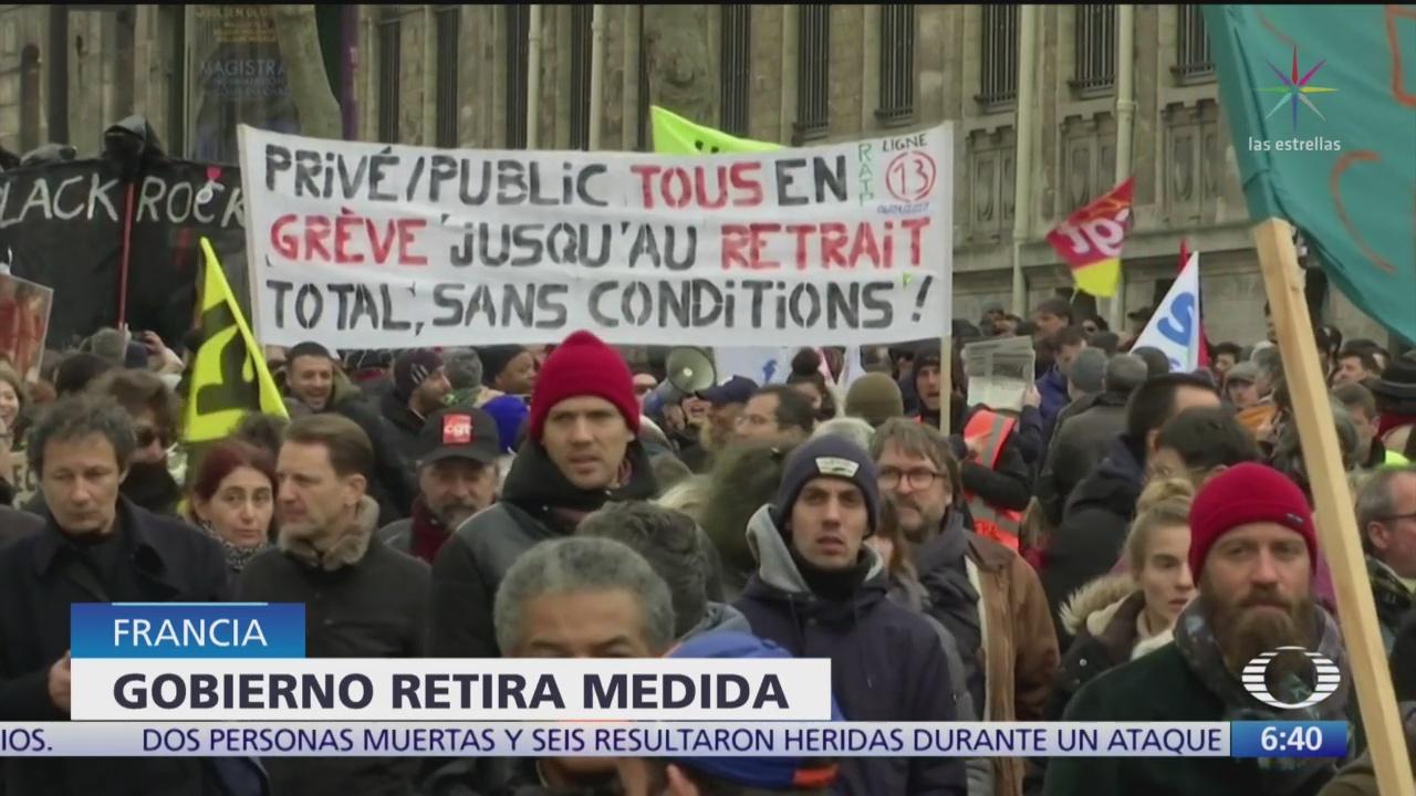 suman 5 semanas de huelgas en francia contra reforma de pensiones