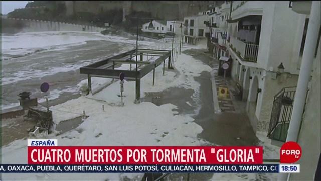 FOTO: tormenta gloria provoca fuertes nevadas en espana