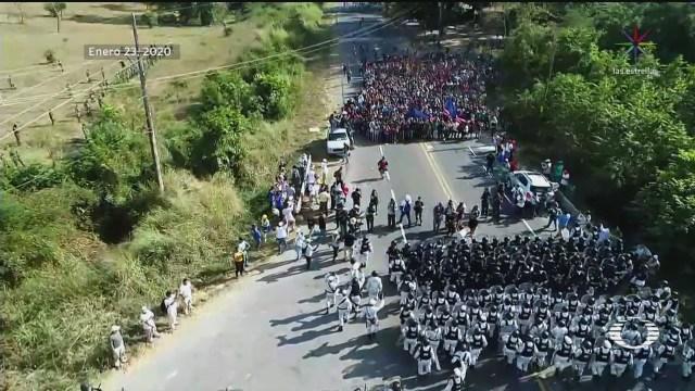 Foto: Migrantes Consideran Regresar País Ingreso México 24 Enero 2020