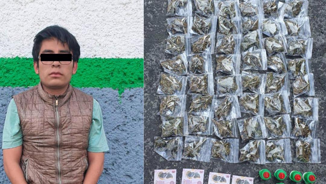 FOTO: Tres detenidos por posesión de dulces con marihuana, el 14 de enero de 2020