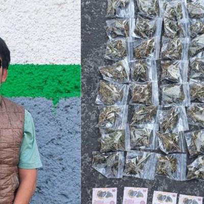 Tres detenidos por vender dulces con marihuana en Ciudad Universitaria