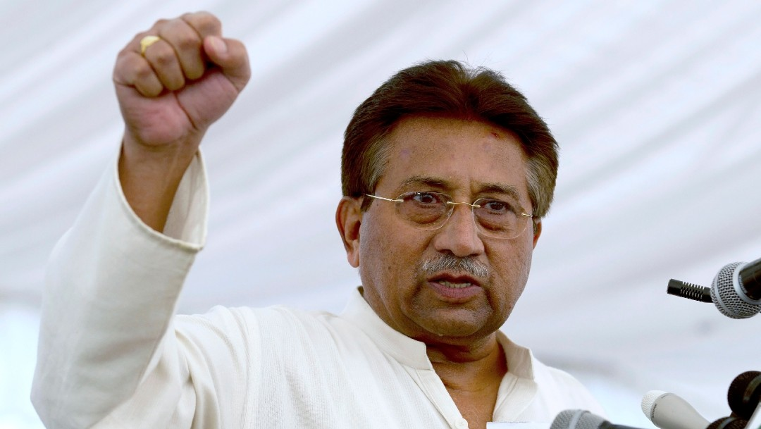 Corte de Pakistán anula sentencia a muerte contra el exgobernante Musharraf