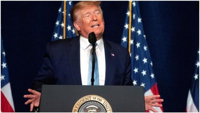 Imagen: Donald Trump lazó una alerta en contra de Irán por medio de Twitter, 5 de enero de 2020 (EFE)