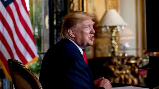 FOTO Trump relata detalles del ataque a Soleimani a donantes republicanos en EEUU, el 18 de enero de 2020