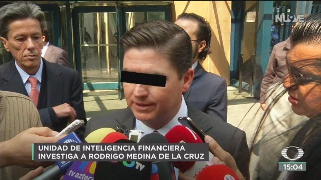 FOTO: uif de hacienda investiga al exgobernador rodrigo medina de la cruz