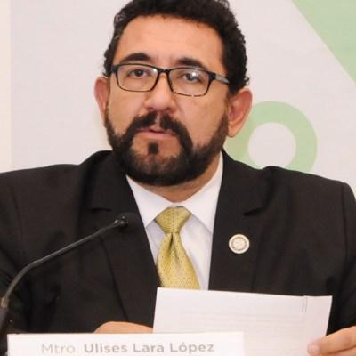 Foto: Ulises Lara, vocero de la Fiscalía General de Justicia de la Ciudad de México, en conferencia de prensa, 6 septiembre 2019