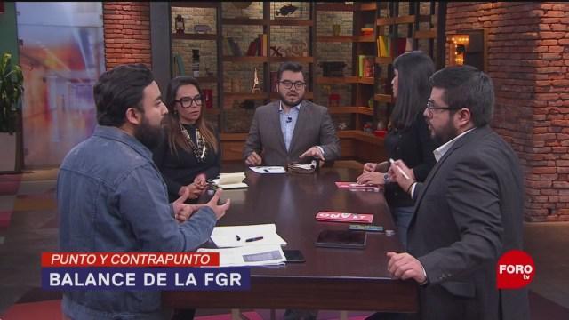 Foto: Un Año Fgr Reformas Balance 15 Enero 2020