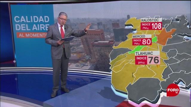 FOTO: valle de mexico registra mala calidad del aire