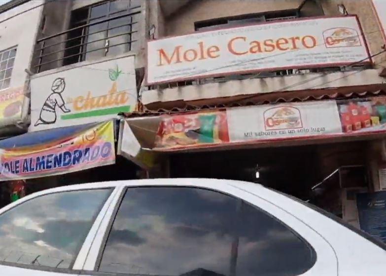Locales de mole en San Pedro Atocpan de Milpa Alta
