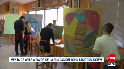 venta de arte a favor de la fundacion john langdon down