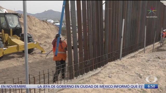 victoria legal para trump sobre construccion del muro fronterizo