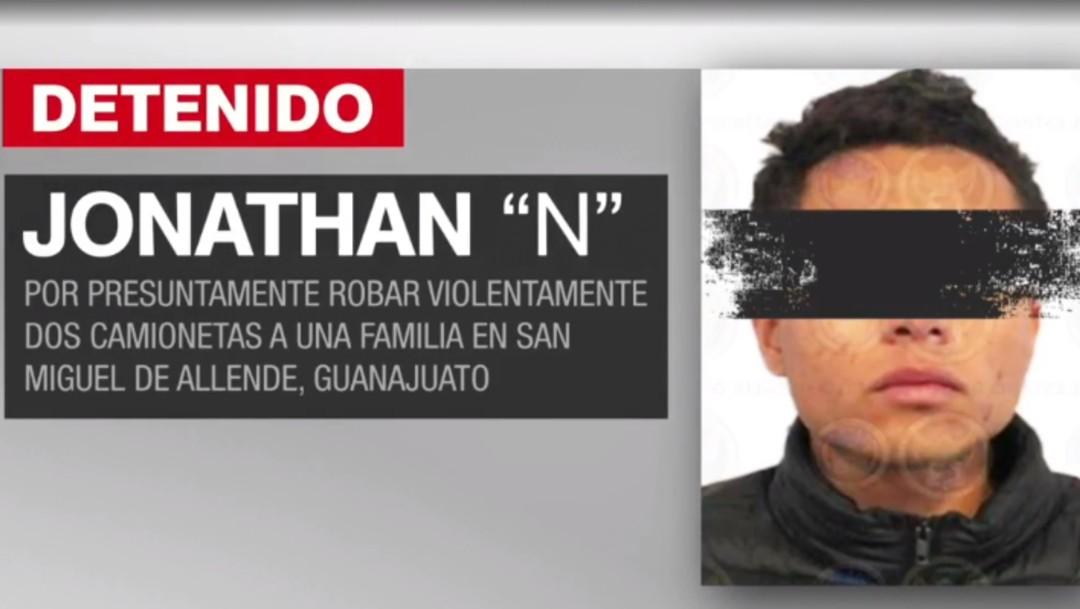 Foto: Vinculan a proceso a Jonathan 'N' por robo de camionetas en San Miguel de Allende