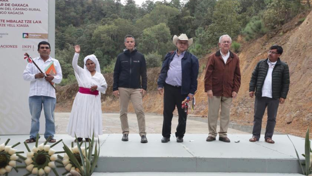 Foto: Supervisa AMLO obras de vía Oaxaca-Mitla-Tehuantepec, 19 de enero de 2020, (Cuartoscuro, archivo)
