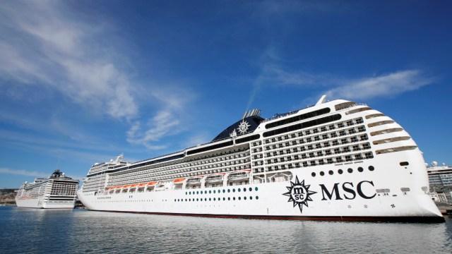 crucero de la firma ítalo-suiza MSC