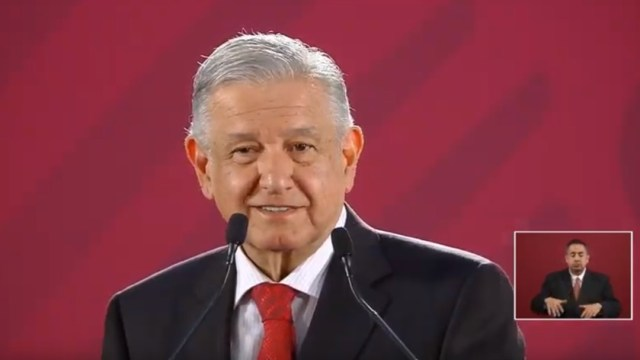 Foto: Andrés Manuel López Obrador, presidente de México