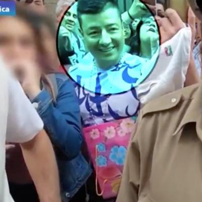 Detectan a hombre grabando a mujer debajo de la falda en video de Luisito Comunica