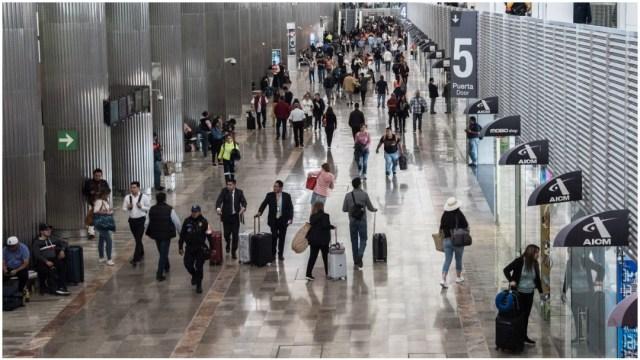 Imagen: El AICM ocupa el lugar número 15 a nivel mundial, 16 de febrero de 2020 (MARIO JASSO /CUARTOSCURO.COM)