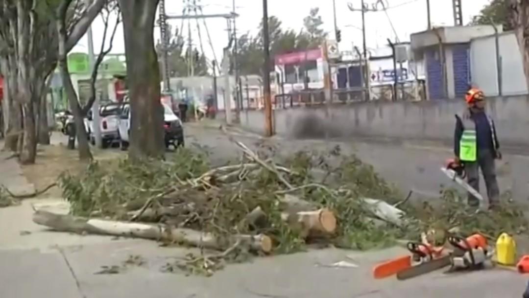 Foto: Alerta amarilla en 12 alcaldías de la CDMX por fuertes vientos