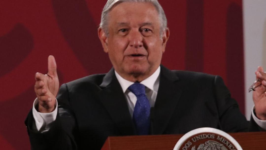 FOTO Video: Conferencia matutina de AMLO del 19 febrero 2020 (Cuartoscuro)