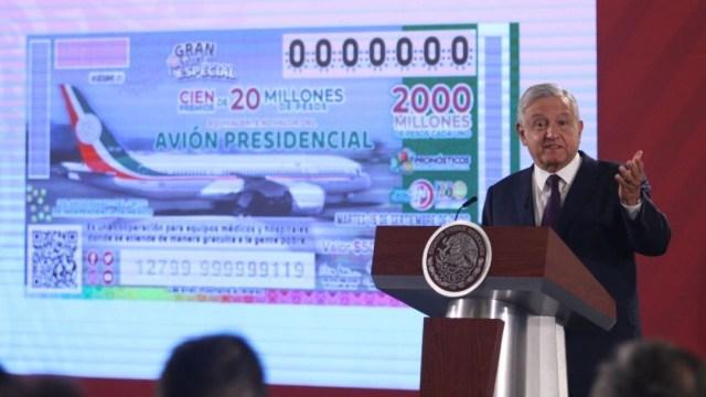 Foto: El presidente Andrés Manuel López Obrador durante su conferencia matutina este viernes 7 de febrero de 2020. (Cuartoscuro)