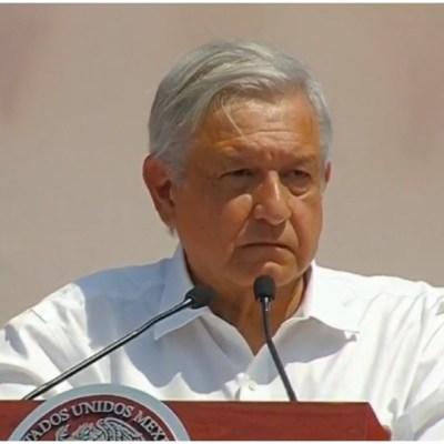 Foto: AMLO también se comprometió a acabar con la corrupción en el Infonavit, 23 de febrero de 2020 (Foro TV)