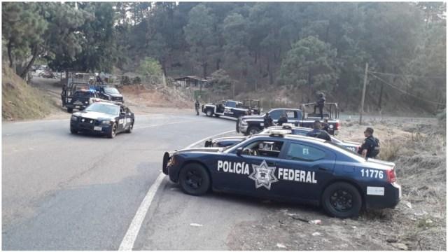 Foto: Tres personas fallecen tras enfrentamiento en Uruapan, 15 de febero de 2020 (Foro TV)