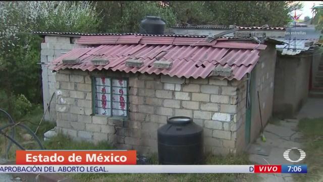 asi es la vivienda donde fueron detenidos los presuntos asesinos de fatima