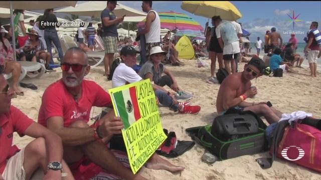 Foto: Video Picnic Masivo Playa Del Carmen Quintana Roo 24 Febrero 2020