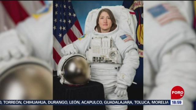 Foto: Astronauta Mujer Volverá Tierra 328 Días 5 Febrero 2020