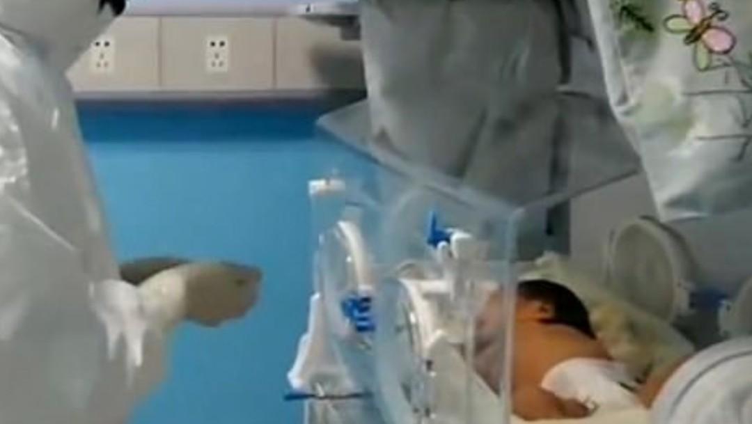 Foto: Bebé recién nacida se recupera de coronavirus sin medicamentos