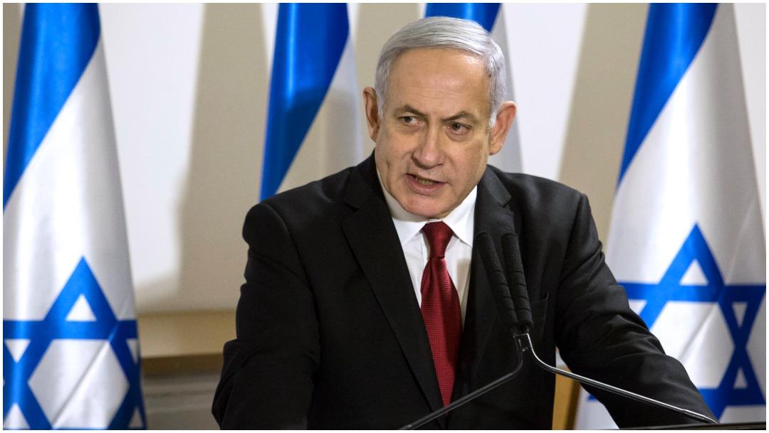 Imagen: Benjamin Netanyahu asegura no temer al juicio en su contra, 29 de febrero de 2020 (Getty Images)