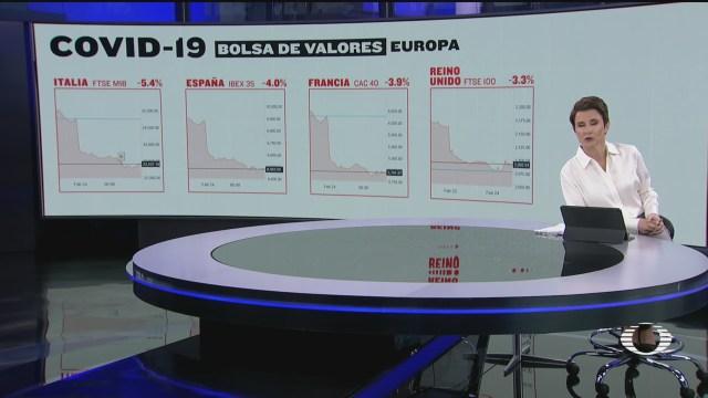 Foto: Bolsas Mundo Caen Temor Eventual Pandemia Coronavirus 24 Febrero 2020